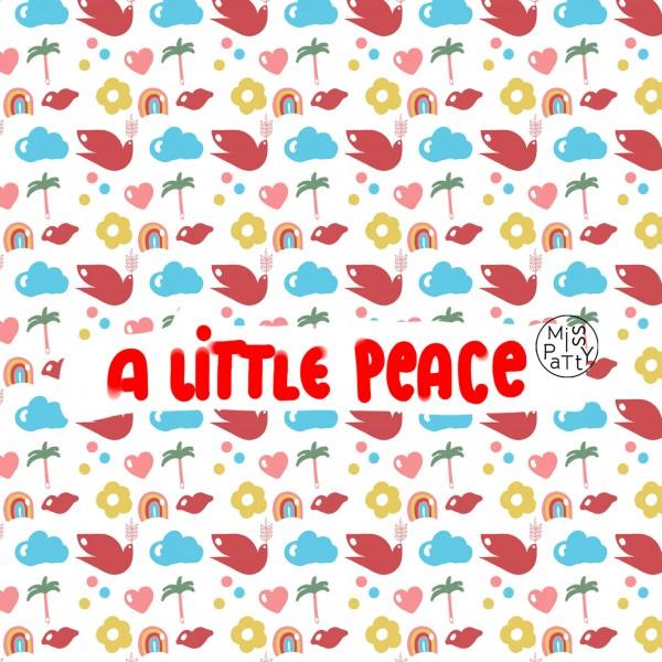 Stoffe/Grafisch/a little peace Bild 1