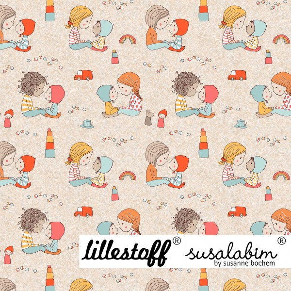 Stoffe/Designer/SUSAlabim/Susalabims Die Kleinen Bild 1