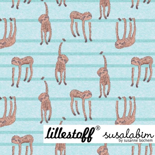 Stoffe/Designer/SUSAlabim/Susalabims Faule Tiere, blau Bild 1