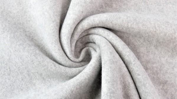 Fabrics/Basics/Solid Double Fleece/Double Fleece, grau Bild 1