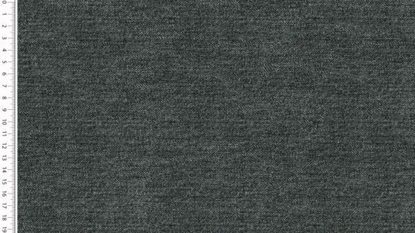 Stoffe/Basics/Sweat Uni/Jeansoptik Summersweat, schwarz Bild 1