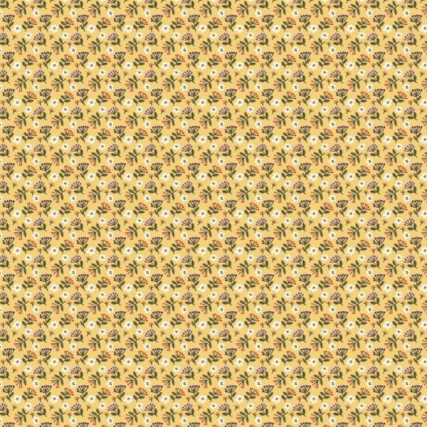 Fabrics/Designers/Enemenemeins/Streublumen, gelb Bild 1