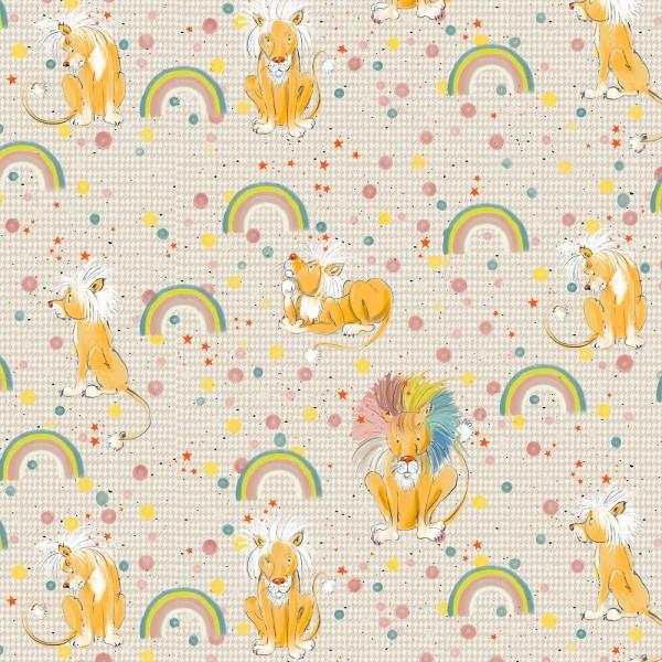 Fabrics/Designers/Tante Gisi/Löwe Theodor Bild 1