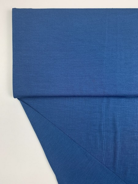 Fabrics/Basics/Solid Modal/Modaljersey, blau Bild 1