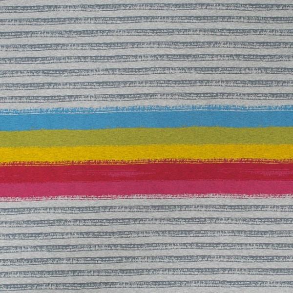 Fabrics/Designers/SUSAlabim/Regenbogenstreifen meliert Bild 1