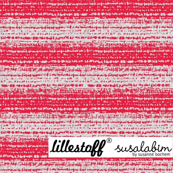 Stoffe/Designer/SUSAlabim/Blockstreifen rot brüchig meliert Bild 1