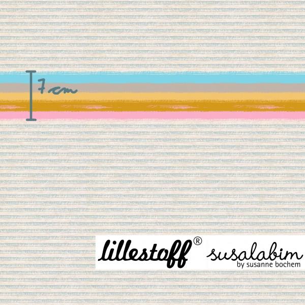 Stoffe/Designer/SUSAlabim/Miniregenbogenstreifen meliert Bild 1