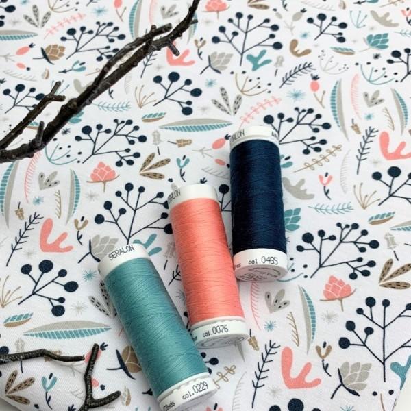 Fabrics/Floral/Lille Woodland Flowers Bild 1