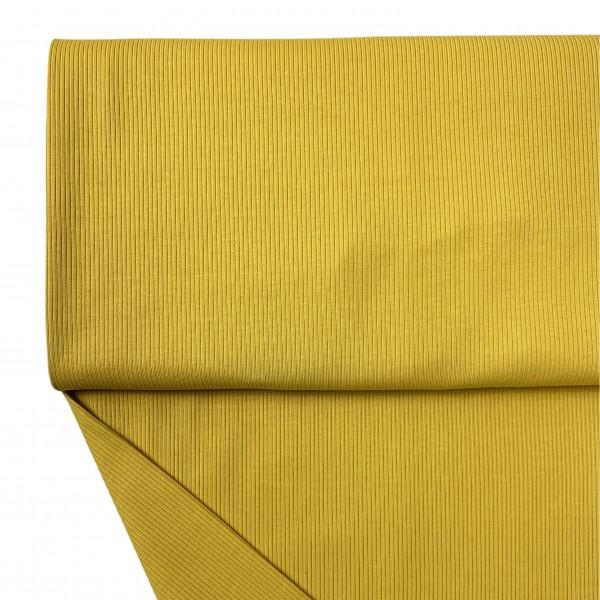 Fabrics/Basics/Solid Rib/Ribjersey, gelb Bild 1