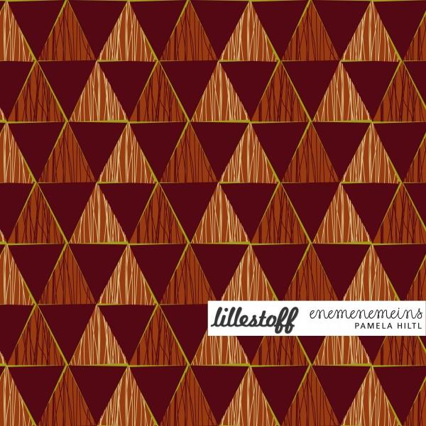 Fabrics/Designers/Enemenemeins/Geometric red Bild 1