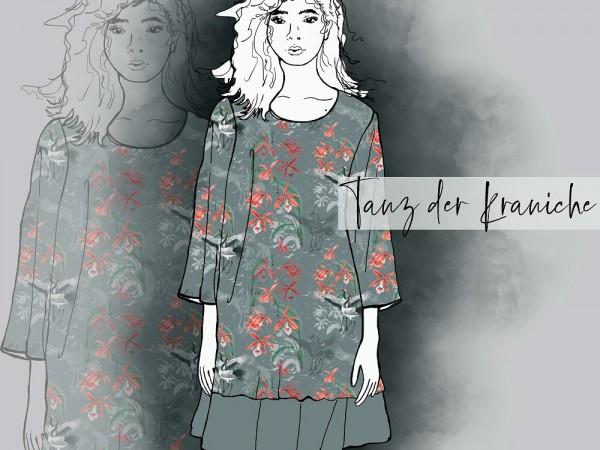 Stoffe/Designer/Tante Gisi/Tanz Der Kraniche Bild 1