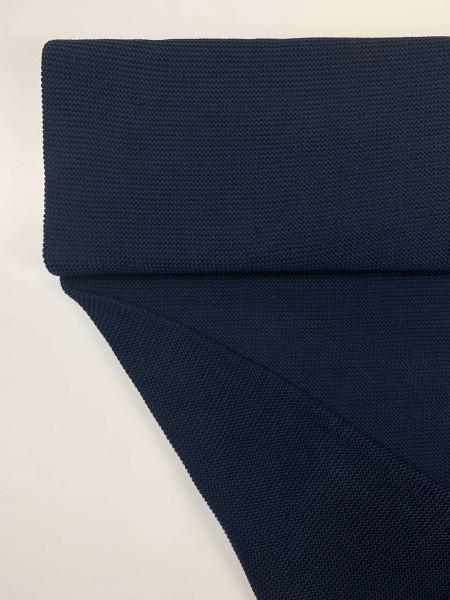 Fabrics/Basics/Solid Knit/Linksstrick, navy Bild 1