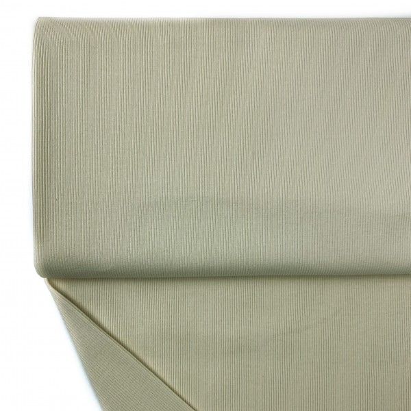 Fabrics/Basics/Solid Rib/Ribjersey, vanille Bild 1