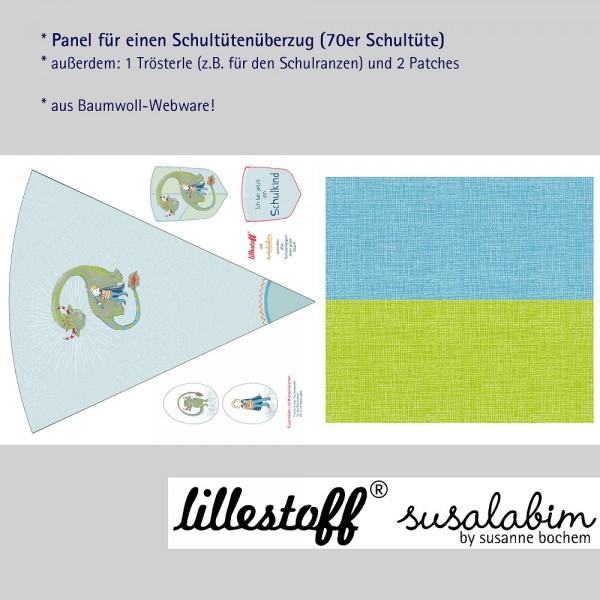 Stoffe/Designer/SUSAlabim/Schultütenset Drachenfreund Bild 1