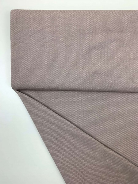 Fabrics/Basics/Solid Jacquard/Jacquardsweat, taupe Bild 1