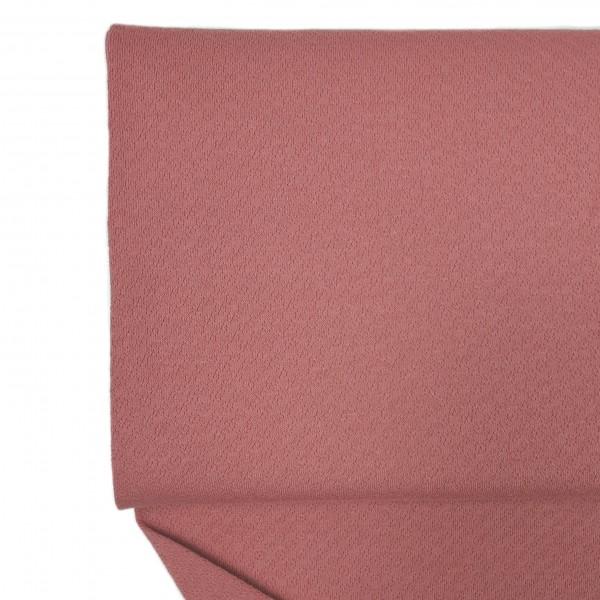 Fabrics/Basics/Solid Jacquard/Jacquardjersey, altrosa Bild 1