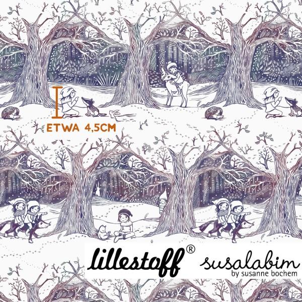 Stoffe/Designer/SUSAlabim/Susalabims Winterwald Verlauf Bild 1