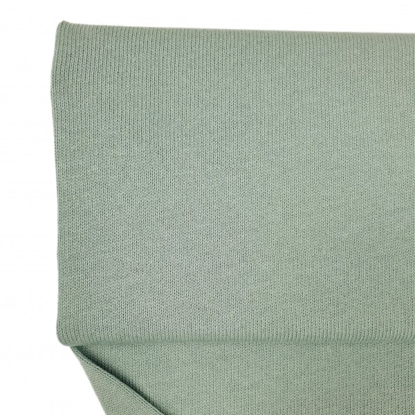 Stoffe/Basics/Strick Uni/Baumwollstrick, altgrün dunkel Bild 1