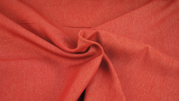 Stoffe/Basics/Jeans Uni/Summerjeans, rot Bild 1