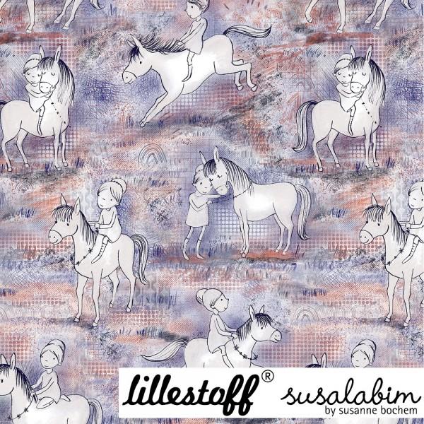 Fabrics/Designers/SUSAlabim/Susalabims Pferdespaß Bild 1