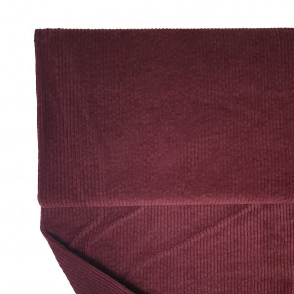 Fabrics/Basics/Solid Cord/Breitcord, dunkelbordeaux Bild 1