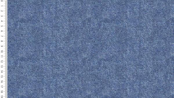 Fabrics/Basics/Solid Sweat/Jeansoptik Summersweat, jeansblau hell Bild 1