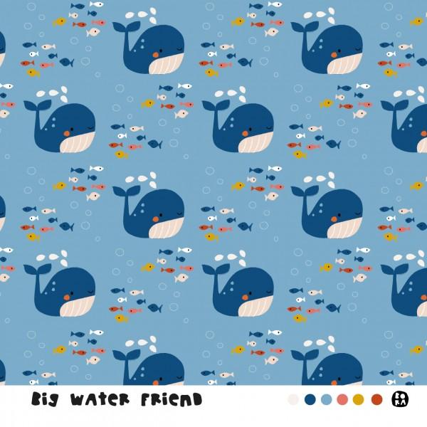 Stoffe/Designer/BORA/Big Water Friend Bild 1