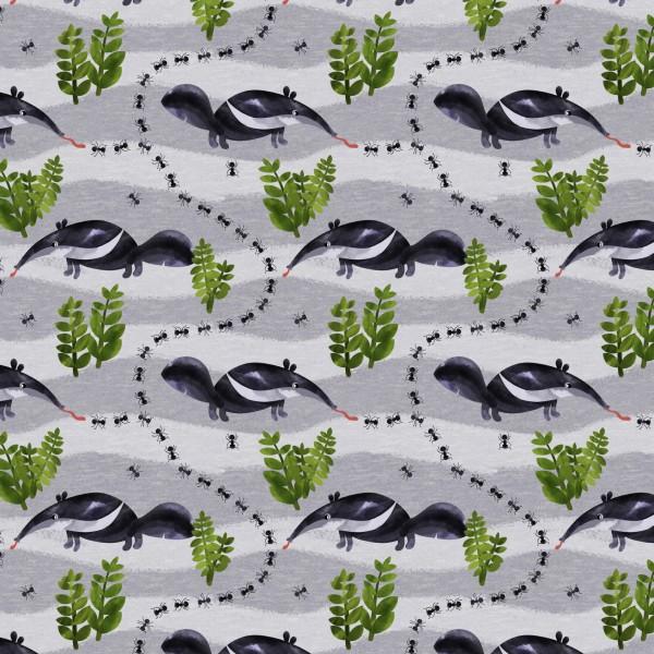 Fabrics/Designers/Enemenemeins/Ameisenbär Bild 1