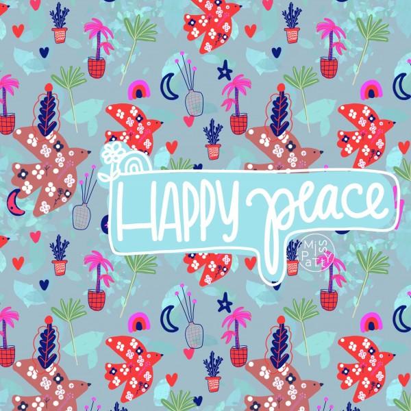 Fabrics/Happy Peace Bild 1