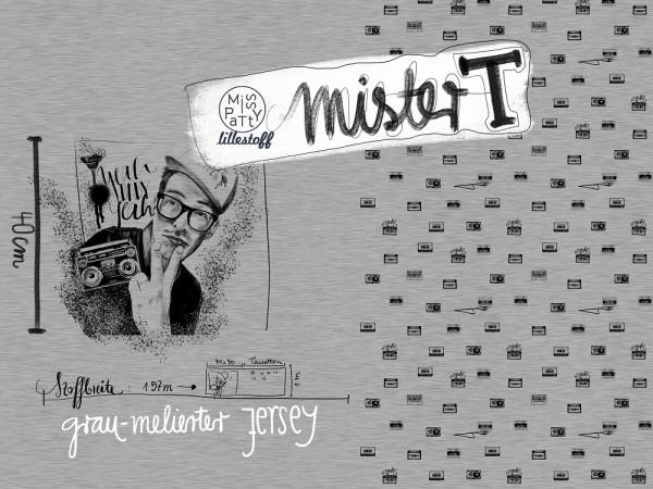 Sale/Mister T, Jersey, meliert 2. Wahl Bild 1