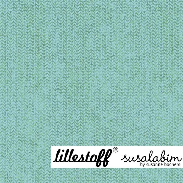 Fabrics/Designers/SUSAlabim/blaugrün, Susalabims Shabbystrick Bild 1