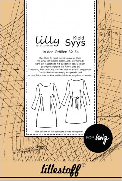 Pattern/lillestoff/Schnittmuster Kleid SYYS Bild 1