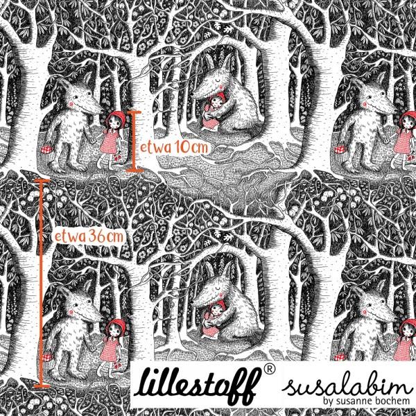 Fabrics/Designers/SUSAlabim/Rotkäppchen Im Dunklen Wald Bild 1