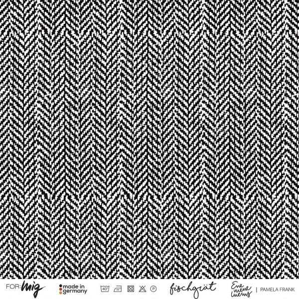 Fabrics/Designers/Enemenemeins/Fischgrät Bild 1