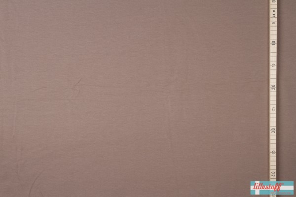Fabrics/Basics/Solid Sweat/Summersweat, taupe Bild 1