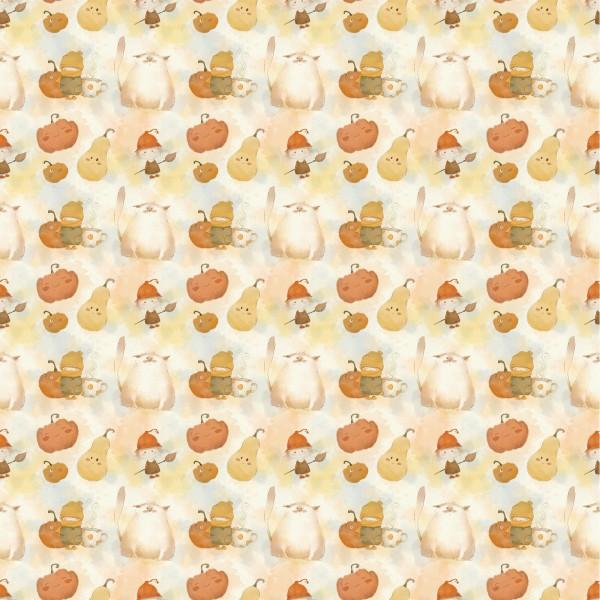 Stoffe/Grafisch/Pumpkin Bild 1