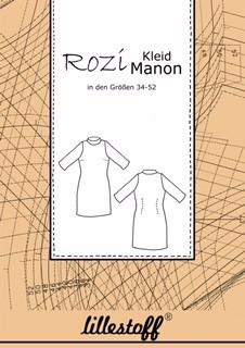 Schnittmuster/lillestoff/Schnittmuster Kleid MANON Bild 1