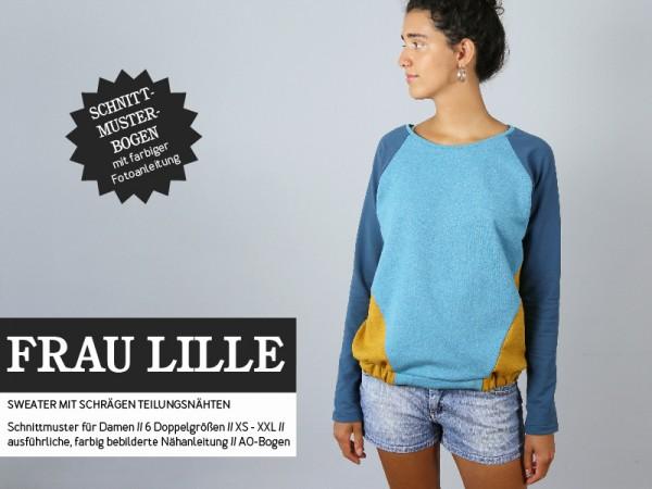 Pattern/STUDIO SCHNITTREIF/Studio Schnittreif - Schnittmuster FrauLILLE Sweater Bild 1