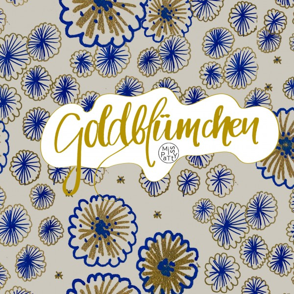 Fabrics/Designers/Miss Patty/Goldblümchen Bild 1