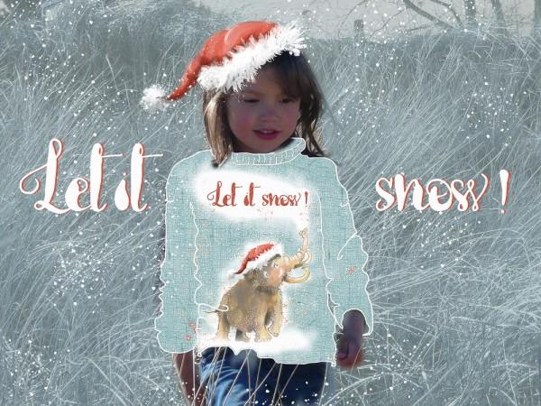 Fabrics/Designers/Tante Gisi/Let It Snow Bild 1