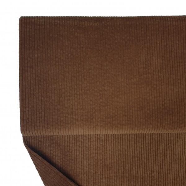 Fabrics/Basics/Solid Cord/Breitcord, braun Bild 1