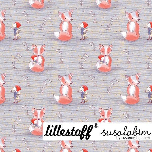 Fabrics/Designers/SUSAlabim/Susalabims Wichtel und Fuchs Bild 1
