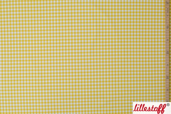 Fabrics/Designers/Miss Patty/Vichykaro gelb Bild 1