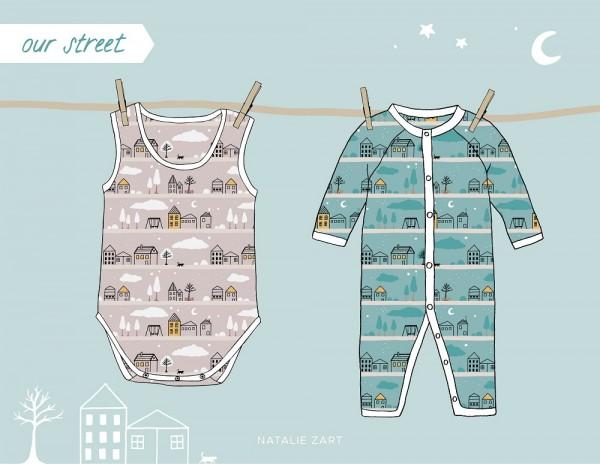 Fabrics/Designers/Natalie Zart/Our Street hellblau Bild 1