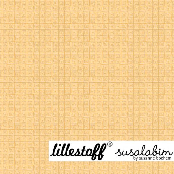 Stoffe/Grafisch/Susalabims Minikaros, gelb Bild 1