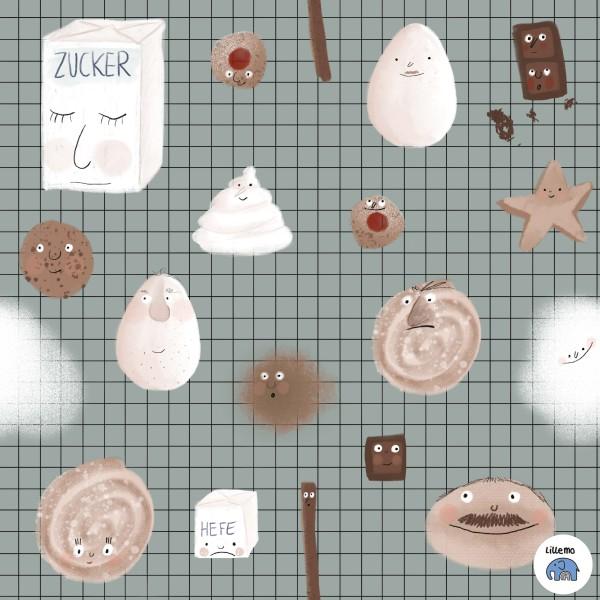 Fabrics/Designers/Lillemo/Zuckerbäckerei Bild 1