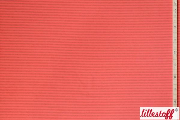 Fabrics/Basics/Stripes/Ringeljersey, rot/grau-melange Bild 1