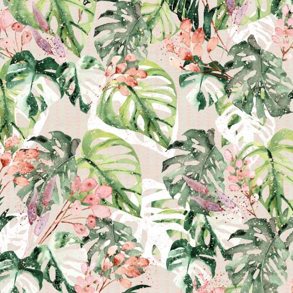 Fabrics/Designers/Tante Gisi/Dschungelgrün Bild 1