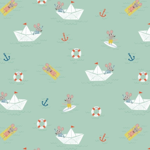 Stoffe/Tiere/Ahoy Mouse Bild 1