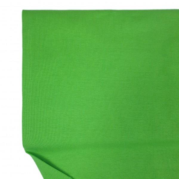 Fabrics/Basics/Solid Cuffs/Bündchen/Ribbing, glatt/smooth, papageigrün Bild 1